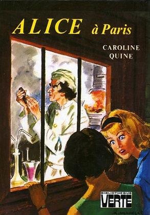 """Quine Caroline - """"Alice a Paris""""  (wH21)"""