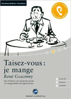 """René Goscinny - """"Taisez-vous je mange""""  (Pack wA93)"""