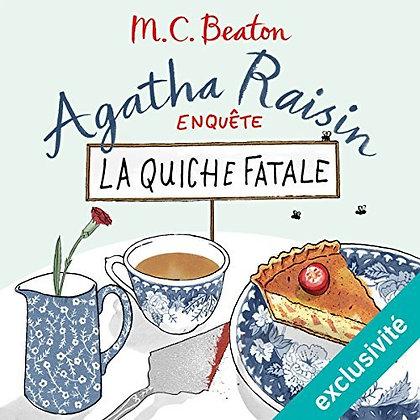 """Cecil Walter Hardy Beaton - """"Agatha Raisin - La quiche fatale""""  (Pack wD35)"""