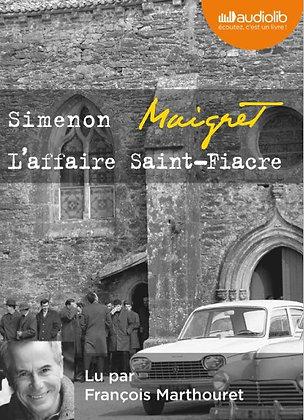 """Georges Simenon - """"L'affaire Saint-Fiacre""""  (Pack wD39)"""