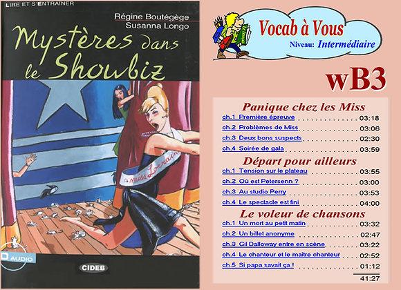 «Mystère dans le Showbiz»   (Pack wB3)