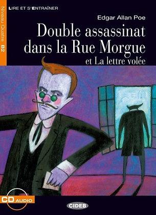 """Poe Edgar Allan - """"Double assassinat dans la Rue Morgue"""" - (Pack wB23)"""