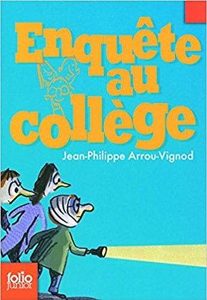 """Arrou-Vignod Jean-Philippe - """"Enquête au Collège"""" Tome 2- (Pack wB40)"""