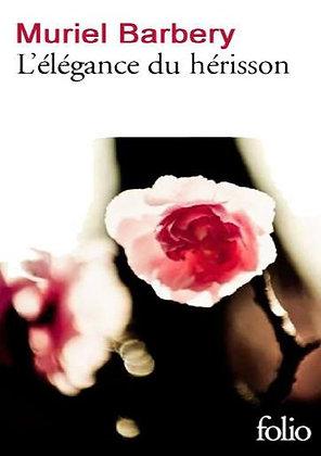 """Muriel_Barbery - """"L'élégance du hérisson""""  (Pack wD44)"""