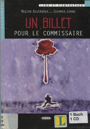 """Boutégège Régine - """"Un billet pour le commissaire""""  (Pack wA39)"""