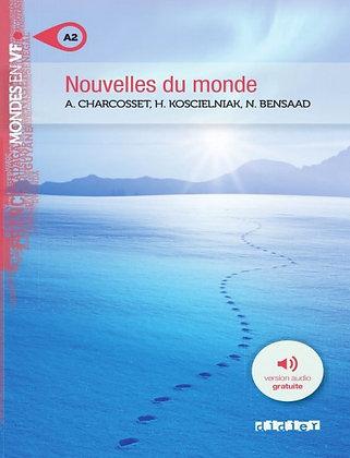 """Amélie Charcosset - """"Nouvelles du monde""""  (Pack wA90)"""