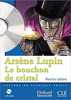 "Leblanc Maurice - ""Arsene Lupin le bouchon de cristal""  (Pack wA97)"