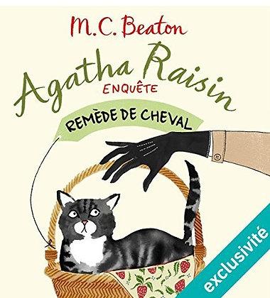 """Cecil Walter Hardy Beaton - """"Remede de cheval Agatha Raisin"""" T2  (Pack wD36"""