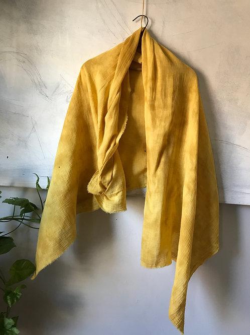 mustard wisper scarf large