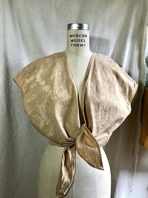 walnut crop tie top