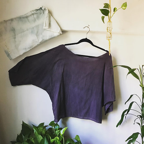 dark purple wander top