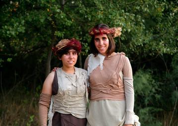 Ester Vallejo y Bea Vallejo