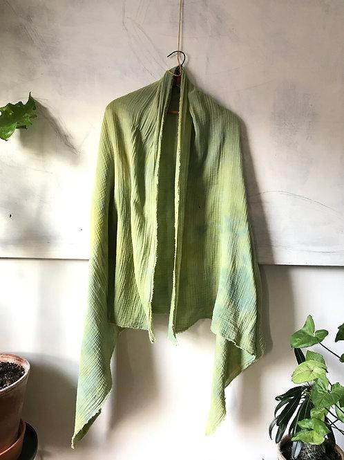 chartreuse wisper scarf large