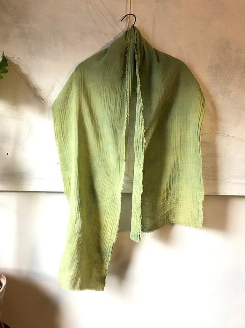 chartreuse wisper head scarf