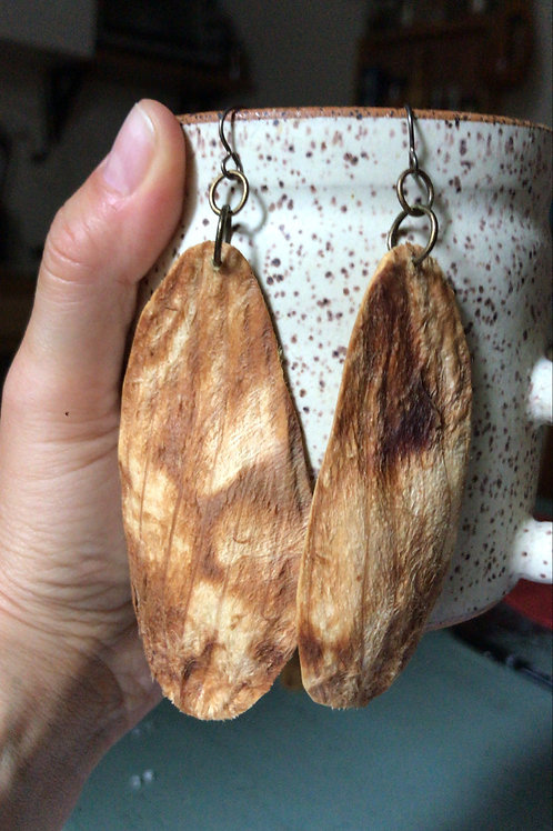 mango pit earrings 2