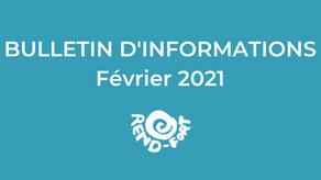 Des nouvelles de Rend-Fort - Février 2021