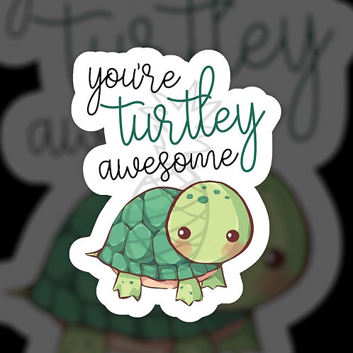 Turtley Awesome • Packaging • Sticker Sheet