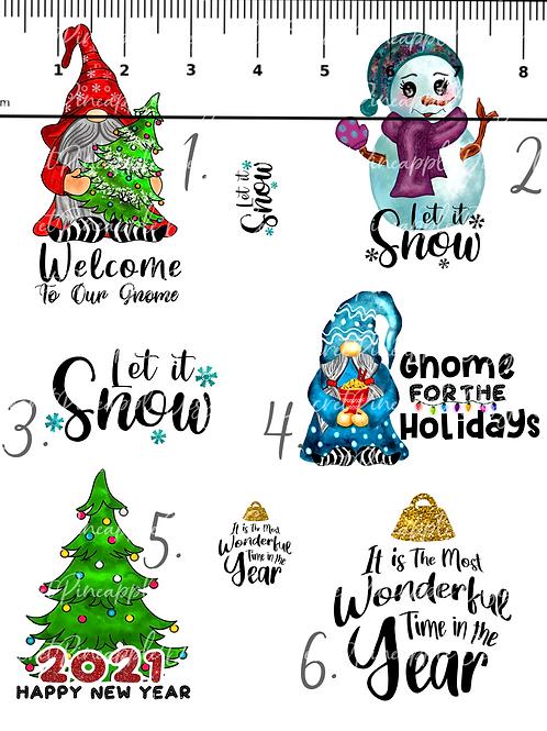 Let it Snow • Waterslide • Single/Sheet