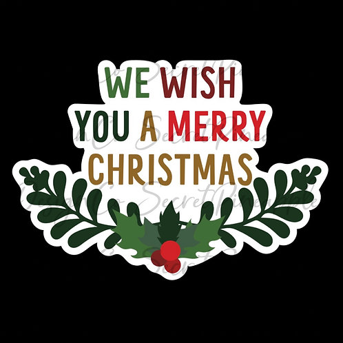We Wish You a Merry Christmas • Sticker Sheet