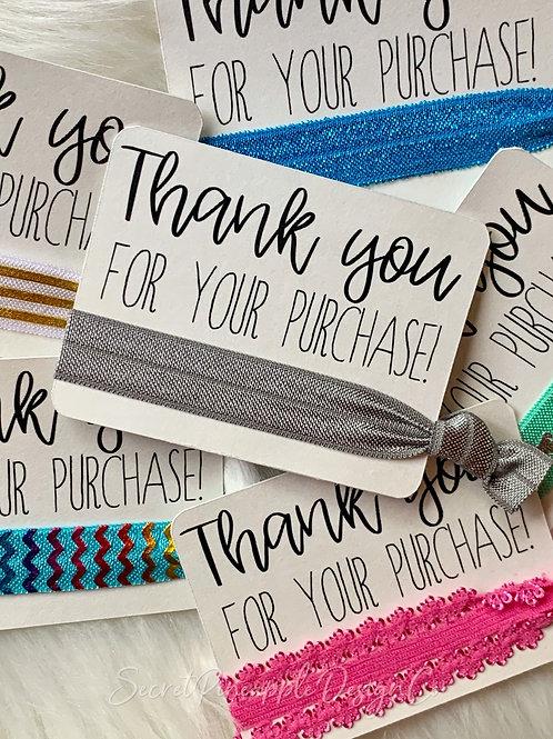 Customer Appreciation Gift -  Hair Tie
