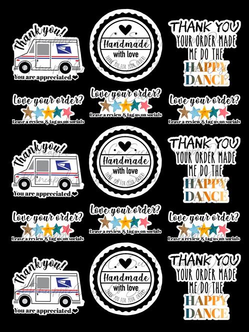 Sample • Sticker Sheet