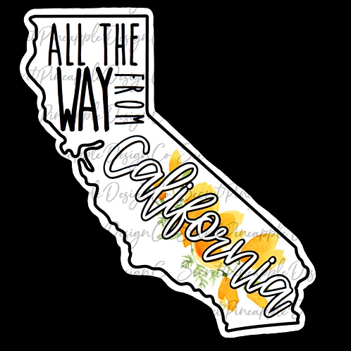 California  •  Sticker Sheet