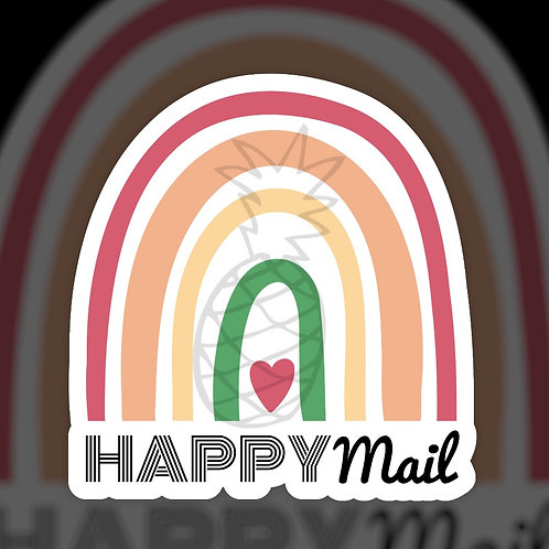 Rainbow Happy Mail • Packaging • Sticker Sheet