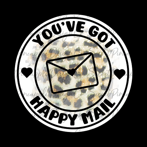 Leopard • Happy Mail • Sticker Sheet