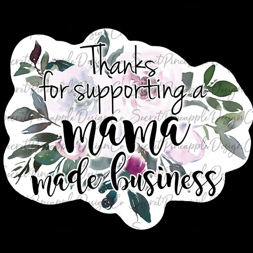 Mama Made  • Floral •  Sticker Sheet