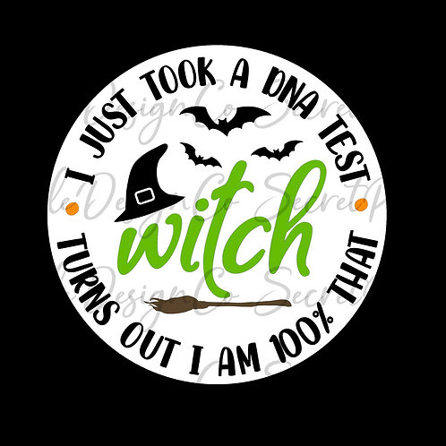 100% that witch • Halloween • Sticker Sheet
