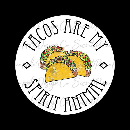 Taco • Spirit Animal • Sticker Sheet