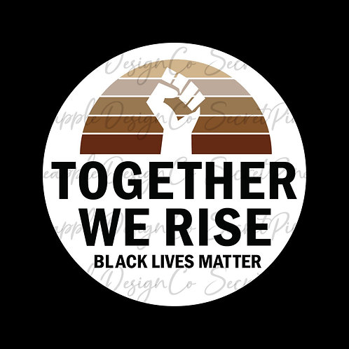 Together We Rise • Sticker Sheet