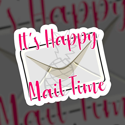 It's Happy Mail Time • Sticker Sheet