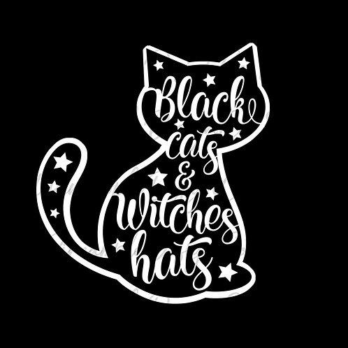Black Cats • Halloween • Sticker Sheet