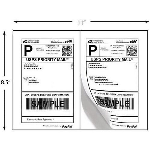 Shipping Label Sheet