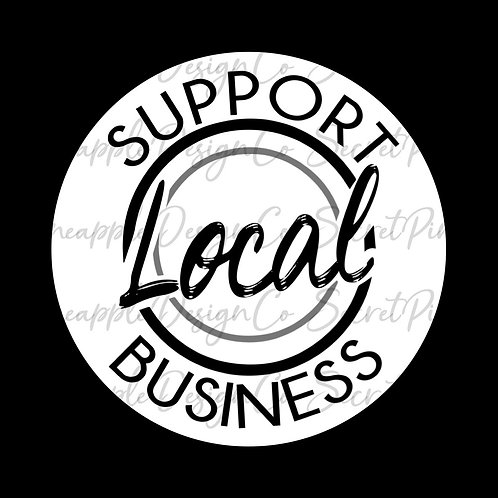 Local Business • Support • Sticker Sheet