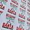 Thumbnail: Deliver More Than Santa • Postal Appreciation • Christmas • Sticker Sheet