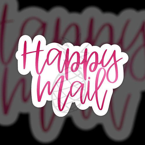 Happy Mail Pink • Sticker Sheet
