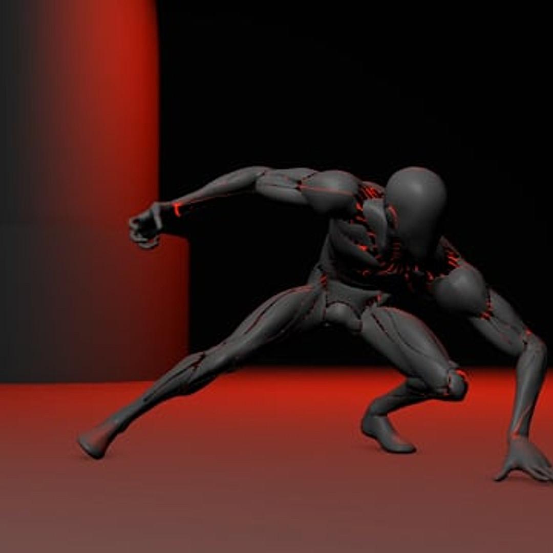Cyborg Landing