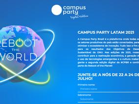 Campus Party Brasil ganha nova edição digital em 2021