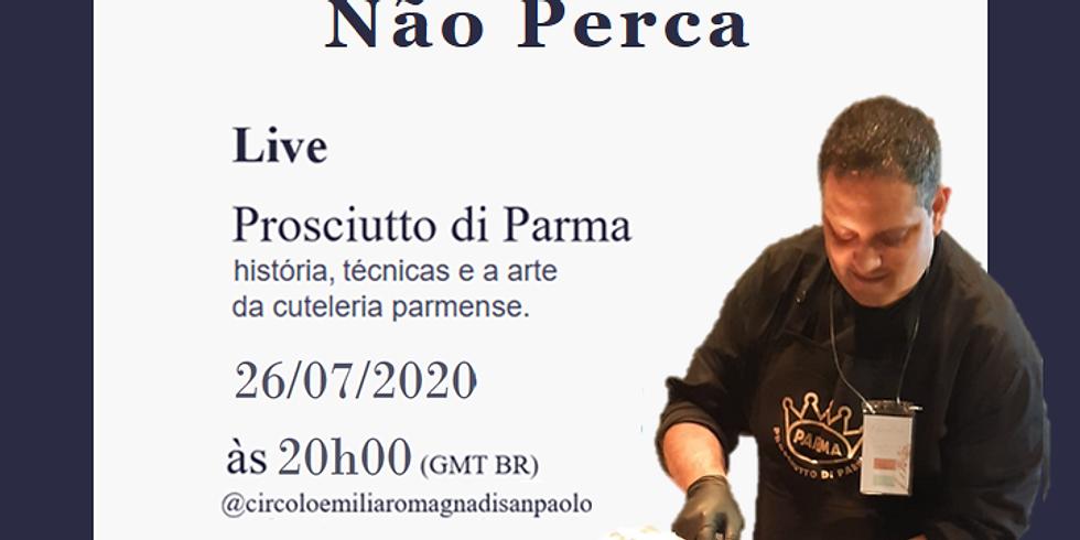 LIVE | Bate-papo sobre Prosciutto di Parma