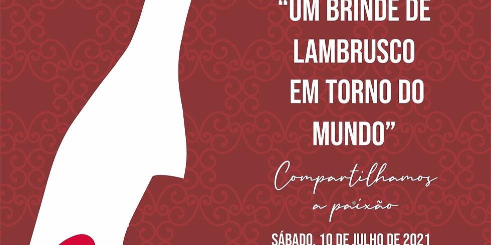 Um brinde de Lambrusco em torno do Mundo