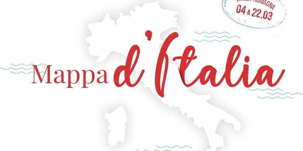 Mappa d'Italia: Emilia-Romagna