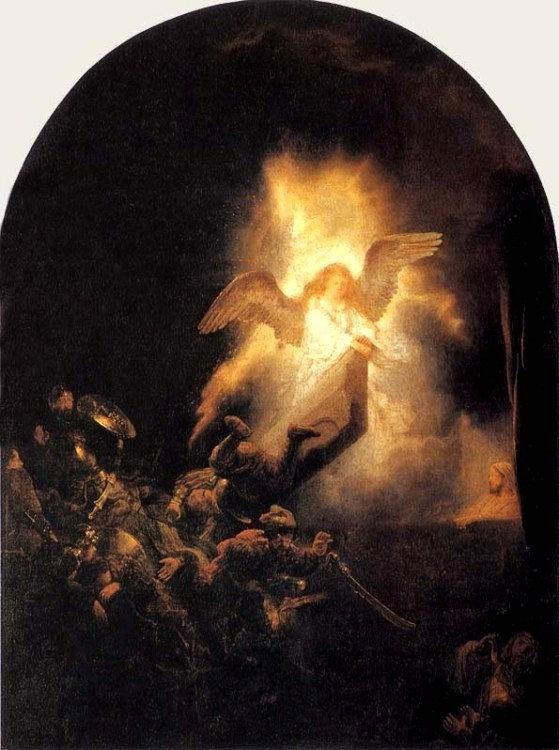Resurrection of Jesus by Rembrandt