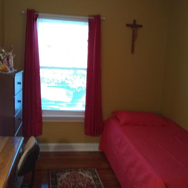 Sr. Emanuela's room after sponsorship