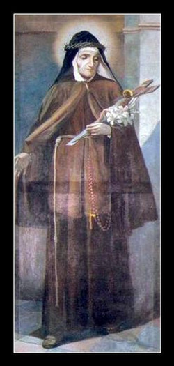 Saint Mary Frances of Five Wounds