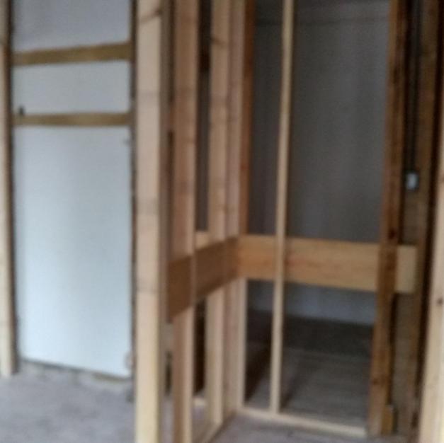 Handicapped Accessible Shower Framework