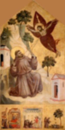 Giotto._Stigmatization_of_St_Francis._12