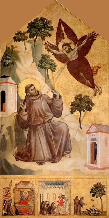 Giotto._Stigmatization_of_St_Francis._12