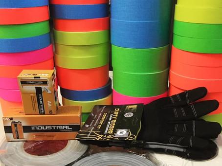 ВСЕГДА В НАЛИЧИИ: Тэйп, батарейки, перчатки!